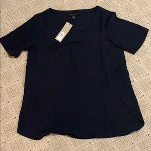 Business navy blue top from banana republic